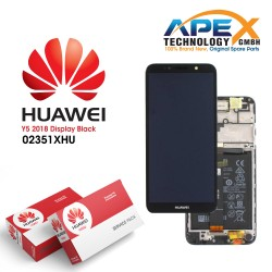 Huawei Y5 (2018) / Y5 Prime (2018) LCD Display / Screen + Touch + Battery Assembly - Black