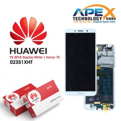 Huawei Y5 LCD / Touch + Battery Assembly White