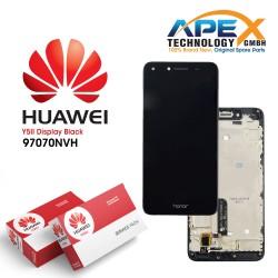 Huawei Y5 II 2016 4G (CUN-L21) Display module LCD / Screen + Touch Black 97070NVH