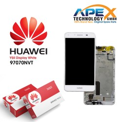 Huawei Y5 II 2016 4G (CUN-L21) Display unit complete white 97070NVT