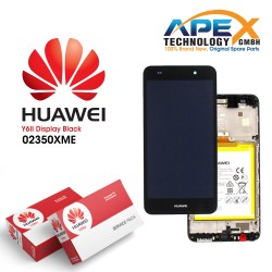 Huawei Y6 ll LCD Display / Screen + Touch + Battery Assembly - Black