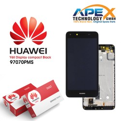 Huawei Y6 ll Compact LCD Display / Screen + Touch + Battery Assembly - Black