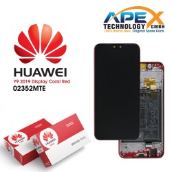 Huawei Y9 (2019) LCD Display / Screen + Touch + Battery - Red