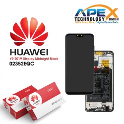 Huawei Y9 (2019) LCD Display / Screen + Touch + Battery - Black