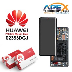 Huawei P30 Pro LCD Display / Screen + Touch + Battery Assembly - Mystic Blue