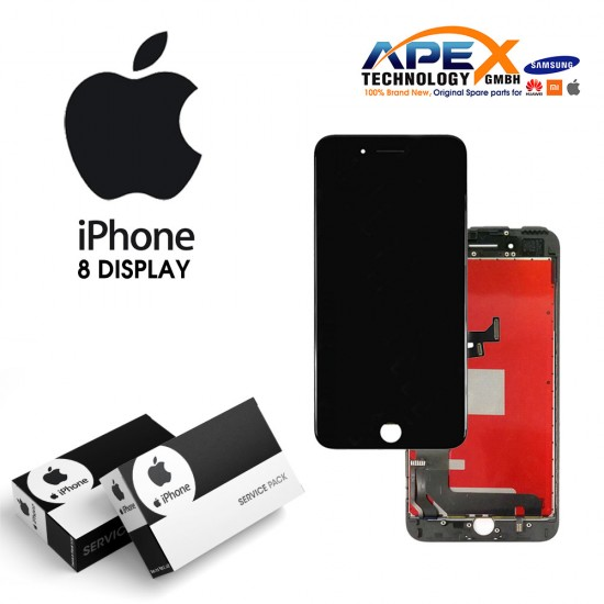 iPhone 8 LCD Display / Screen + Touch - Black
