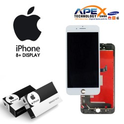 Display module LCD + Digitizer white for iPhone 8+