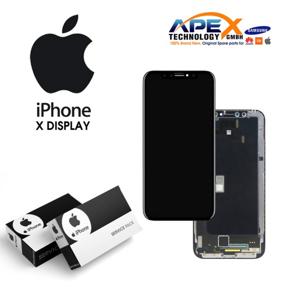 iPhone X LCD Display / Screen + Touch - Black