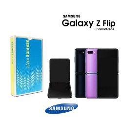 Samsung SM-F700 Galaxy Z Flip LCD Display / Screen + Touch - Purple