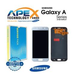Samsung Galaxy A7 2017 (SM-A720F) Display module LCD / Screen + Touch Blue GH97-19723C
