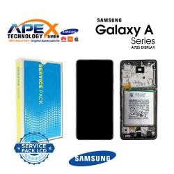 Samsung Galaxy A72 4G / 5G 2021 (SM-A725 / A726 ) Display module LCD / Screen + Touch Black + Btry GH82-25541A OR GH82-25542A
