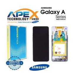 Samsung Galaxy A80 (SM-A805F) Display module LCD / Screen + Touch Ghost White GH82-20348B