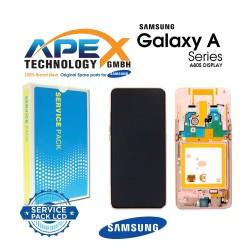Samsung Galaxy A80 (SM-A805F) Display module LCD / Screen + Touch Angel Gold GH82-20348C