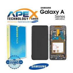 Samsung Galaxy A80 (SM-A805F) Display module LCD / Screen + Touch Phantom Black GH82-20348A