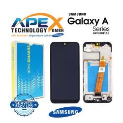 Samsung SM-A015 Galaxy A01 Display module LCD / Screen + Touch Black - GH81-18209A