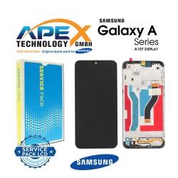 Samsung SM-A107 Galaxy A10s Display module LCD / Screen + Touch - GH81-17482A OR GH81-20306A