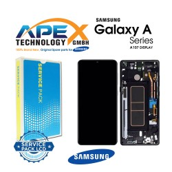 Samsung SM-A107 Galaxy A10S LCD Display / Screen + Touch Black