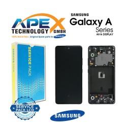 Samsung Galaxy A51 5G (SM-A516B) Display module LCD / Screen + Touch Prism Crush Black GH82-23100A
