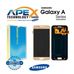 Samsung SM-A320 Galaxy A3 (2017) LCD Display / Screen + Touch Gold