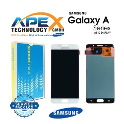 Samsung Galaxy A5 2016 (SM-A510F) Display module LCD + Digitizer white GH97-18250A