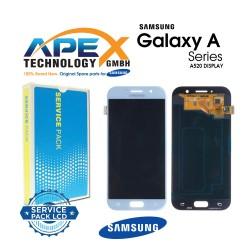 Samsung SM-A520 Galaxy A5 (2017) LCD Display / Screen + Touch Blue