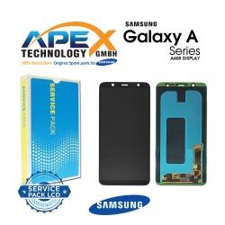 Samsung Galaxy A6+ 2018 (SM-A605FN) Display module LCD + Digitizer black GH97-21878A