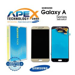 Samsung SM-A800 Galaxy A8  LCD Display / Screen + Touch - Gold