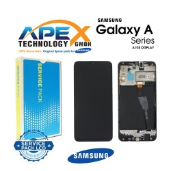 Samsung SM-A105 Galaxy A10 LCD Display / Screen + Touch Black