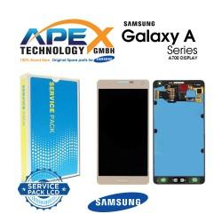 Samsung Galaxy A7 (SM-A700F) Display module LCD + Digitizer gold GH97-16922F