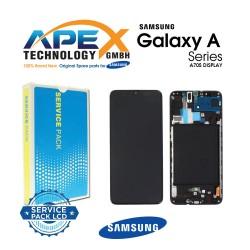 Samsung Galaxy A70 (SM-A705F) Display module LCD / Screen + Touch Black GH82-19787A