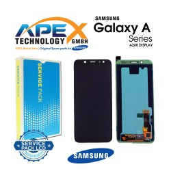 Samsung SM-A260 Galaxy A2 CORE LCD Display / Screen + Touch Black