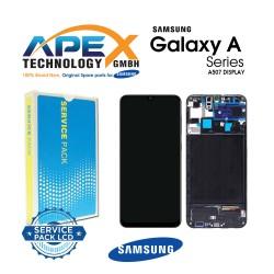 Samsung Galaxy A50S (SM-A507F) Display module LCD / Screen + Touch Black GH82-21193A