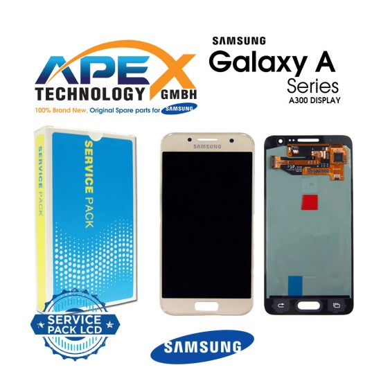Samsung SM-A300 Galaxy A3 LCD Display / Screen + Touch Pink
