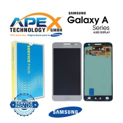 Samsung SM-A300 Galaxy A3 LCD Display / Screen + Touch Silver