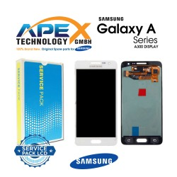 Samsung SM-A300 Galaxy A3 LCD Display / Screen + Touch White