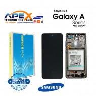 Samsung Galaxy SM-A526 / A525 (A52 5G / 4G 21 ) Display module LCD / Screen + Touch Black + Btry GH82-25229A OR GH82-25230A