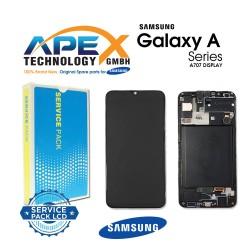 Samsung Galaxy A70S (SM-A707F) Display module LCD / Screen + Touch Black GH82-21379A