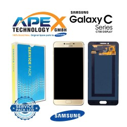 Samsung SM-C700 Galaxy C7 LCD Display / Screen + Touch - Gold