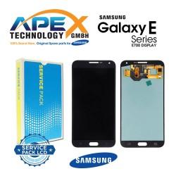 Samsung SM-E700 Galaxy E7 LCD Display / Screen + Touch - Black