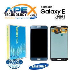 Samsung SM-E700 Galaxy E7 LCD Display / Screen + Touch - Blue