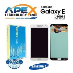 Samsung SM-E700 Galaxy E7 LCD Display / Screen + Touch - White