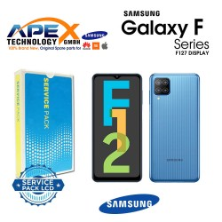 Samsung Galaxy SM-F127 ( F12 2021 ) LCD Display module LCD / Screen + Touch  GH82-25043A