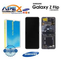 Samsung Galaxy Z Flip (SM-F700F) Display module LCD / Screen + Touch mirror Black GH82-22215A