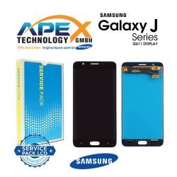 Samsung SM-G611 Galaxy On7 / J7 Prime 2 Display module LCD / Screen + Touch - Black - GH96-11544A