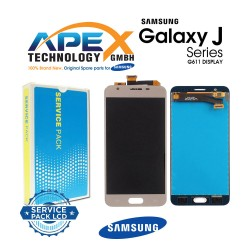 Samsung SM-G611 Galaxy On7 / J7 Prime 2 Display module LCD / Screen + Touch - Gold - GH96-11543A
