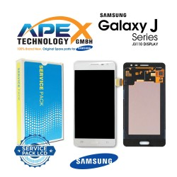 Samsung SM-J3110 Galaxy J3 Pro LCD Display / Screen + Touch - White