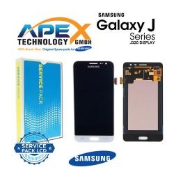 Samsung SM-J320F Galaxy J3 (2016) LCD Display / Screen + Touch - White