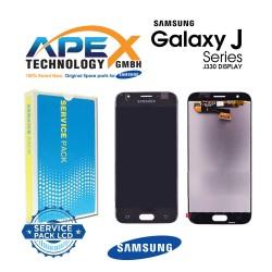 Samsung Galaxy J3 2017 (SM-J330F) Display module LCD + Digitizer black GH96-10969A