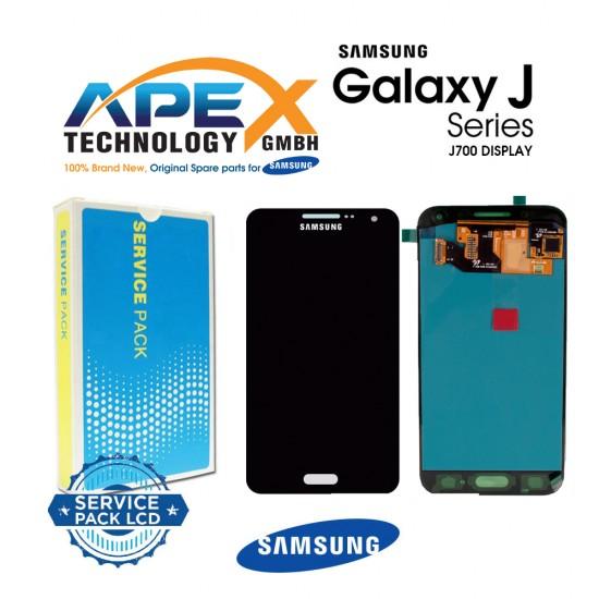 Samsung SM-J700 Galaxy J7 LCD Display / Screen + Touch - Black