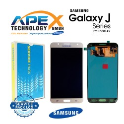 Samsung Galaxy J7 Nxt (SM-J701F) Display module LCD / Screen + Touch Gold GH97-20904B